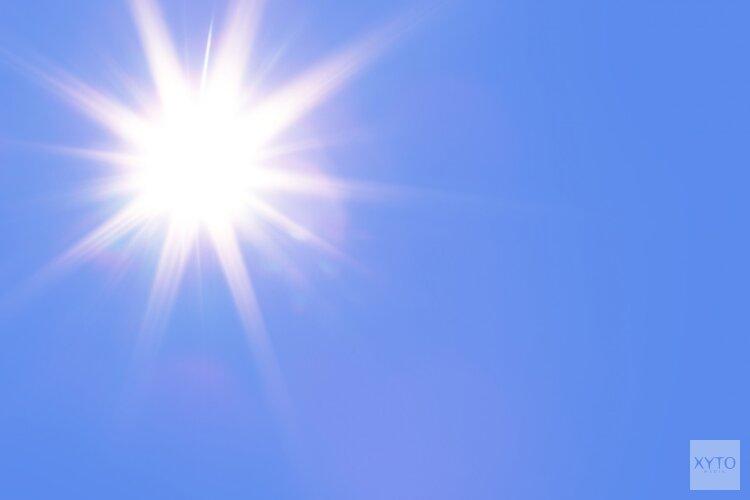 Fraaie zonnige dagen op komst