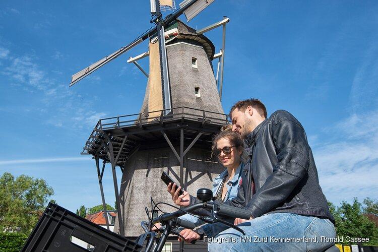 IVN Zuid-Kennemerland lanceert twee nieuwe molenroutes op de app