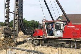 Eerste paal nieuwbouw Orionweg en start voorbereiding op aansluiting Warmtenet