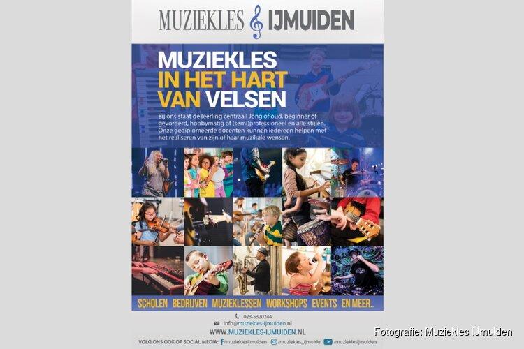 Alphenaar muziekles IJmuiden dankzij aanpassingen versterking klaar voor het nieuwe seizoen