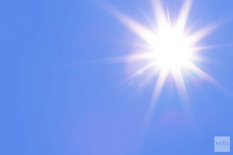 Nazomer met aantal warme en zonnige dagen