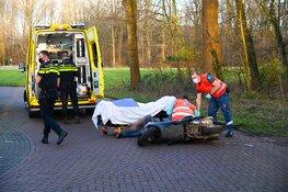 Scooterrijder gewond bij ongeval in Velsen-Noord