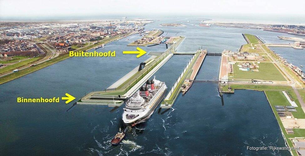 Rijkswaterstaat sluit drie sluizen IJmuiden