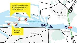 Route over sluizencomplex IJmuiden vanaf vandaag dicht