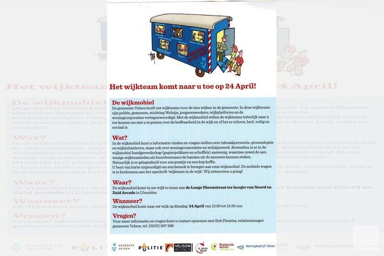 Wijkteam 24 april op de Lange Nieuwstraat!