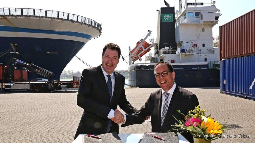 Persbericht ondertekening beheer zeekade vrijdag 20 april