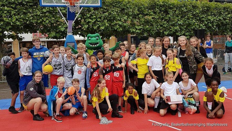 Basketball Street Event Heemskerk groot succes