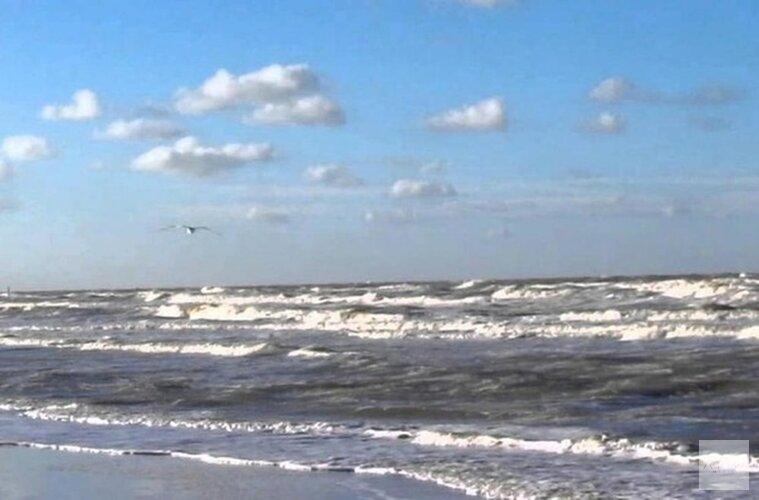 Surfer in problemen op Noordzee