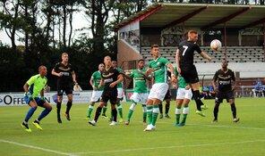 Telstar in de slotfase onderuit tegen FC Dordrecht