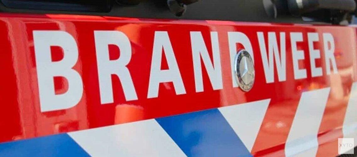 Brand in woning IJmuiden