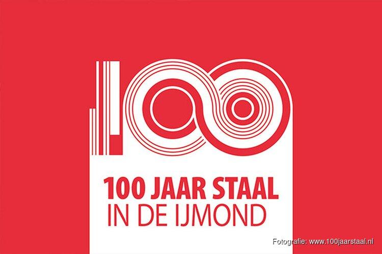 Koning bij viering '100 jaar Staal in de IJmond'