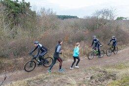 PWN gaat natuurschade door fietsers voorkomen