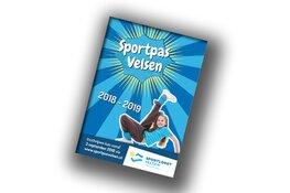 Eerste uitgave Sportpas Velsen nieuwe stijl uitgereikt