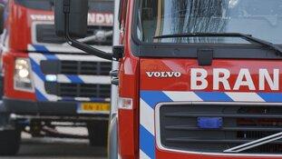 Grote schade door brand in portiekwoning Velsen-Noord