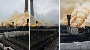 Tata Steel meldde uitstoot gele wolken pas na tip van inspecteur
