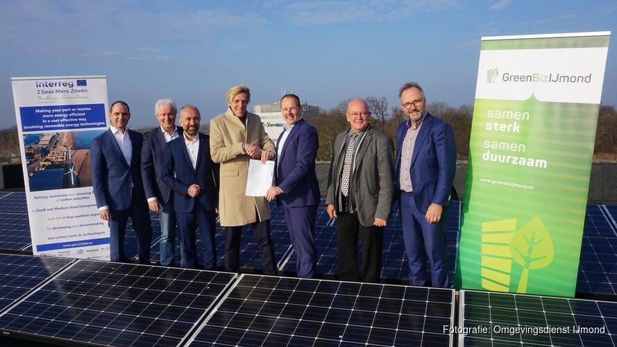 Lokale Energie Markt voor bedrijventerreinen in de IJmond