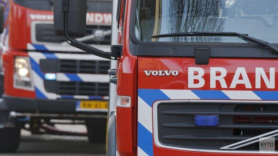 Groot alarm bij vrachtwagenbrand Tata Steel
