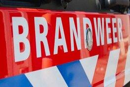 Bedrijfswagen door brand verwoest