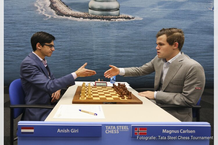 Magnus Carlsen wint Tata Steel Chess Tournament 2019