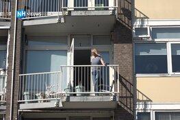 Alweer problemen bij flat IJmuiden: bewoners durven balkons niet meer op
