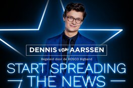 Dennis van Aarssen - Winnaar The Voice Of Holland 2019 in Stadsschouwburg Velsen