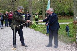 Vernieuwde bloemenwaaier officieel geopend