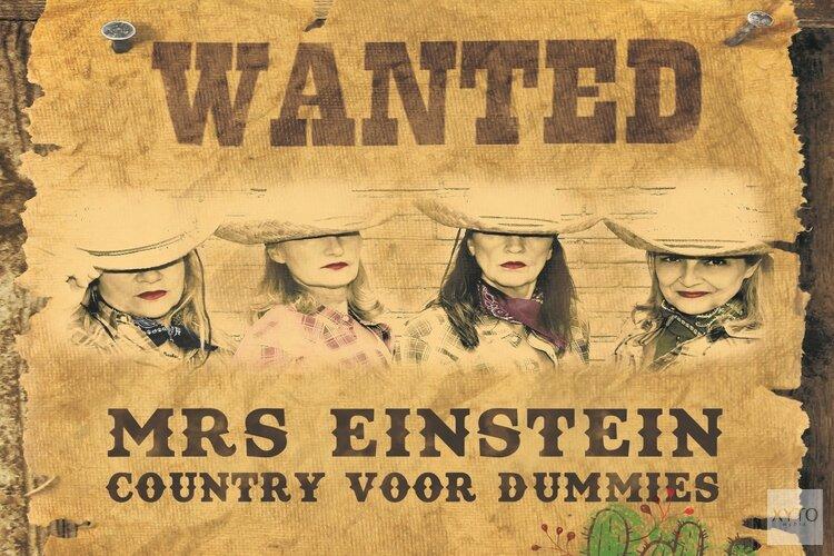 Zangdiva's Mrs. Einstein zingen theaters plat met countrysongs
