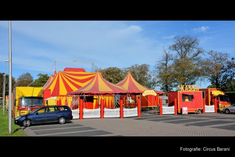 Nationaal Familie Circus Barani komt naar IJmuiden