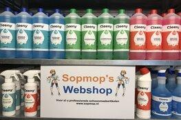Sopmop's Webshop: Voor al uw professionele schoonmaakartikelen
