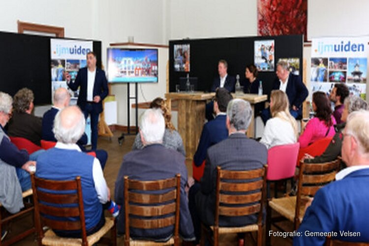 Citymarketingcafé over winkelen in Velsen