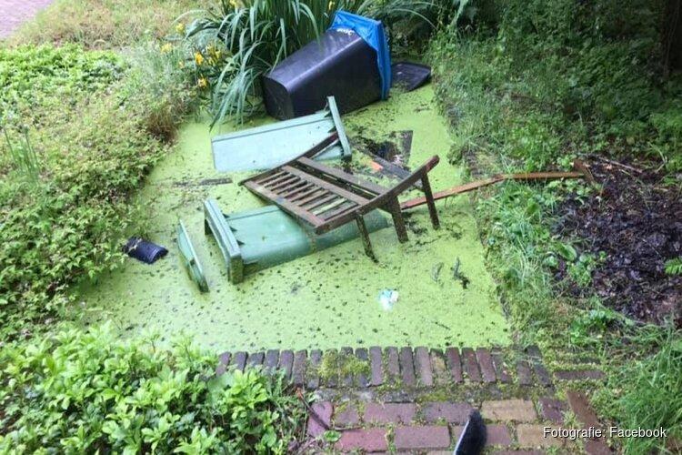 Vandalen slaan toe op begraafplaatsen in IJmuiden en Driehuis