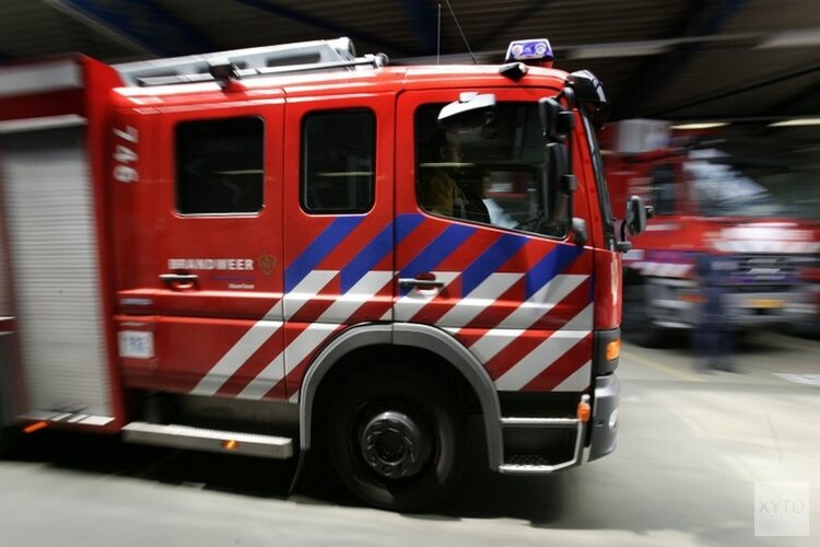 Duinbrand in IJmuiden geblust