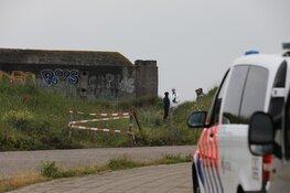 Stoffelijk overschot gevonden in bunker IJmuiden