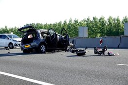 Meerdere gewonden na ongeluk A9, Wijkertunnel weer open