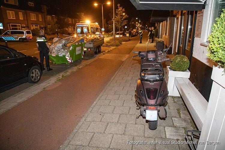 Ongeval na afscheidskus op de Hagelingerweg in Santpoort