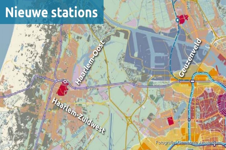 Ambtenaren denken aan nieuwe stations in Haarlem én elke 5 minuten een metro-trein