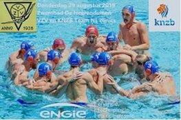 Nederlands Heren waterpolo team bij VZV