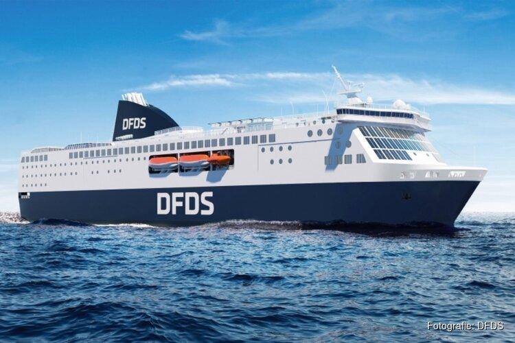 Nieuwe ferry's voor IJmuiden - Newcastle: meer auto's aan boord
