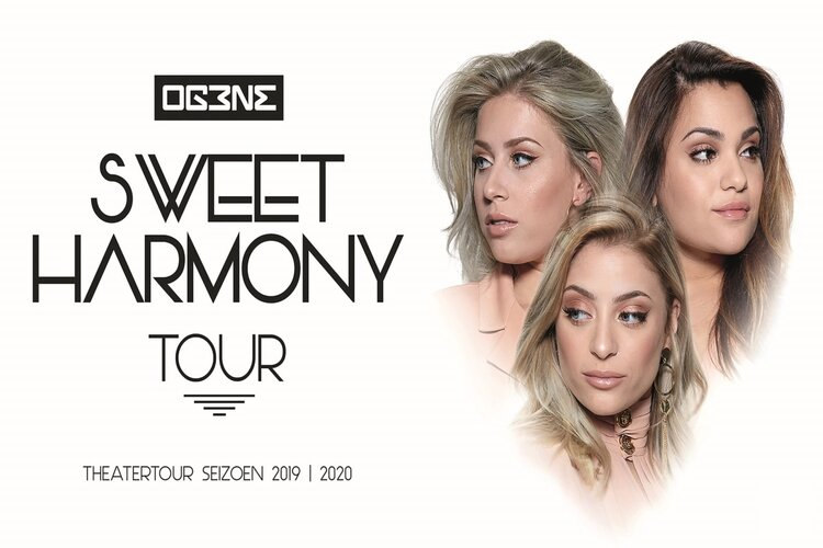 Og3ne tijdens zegetocht met sweet harmony tour in Velsen