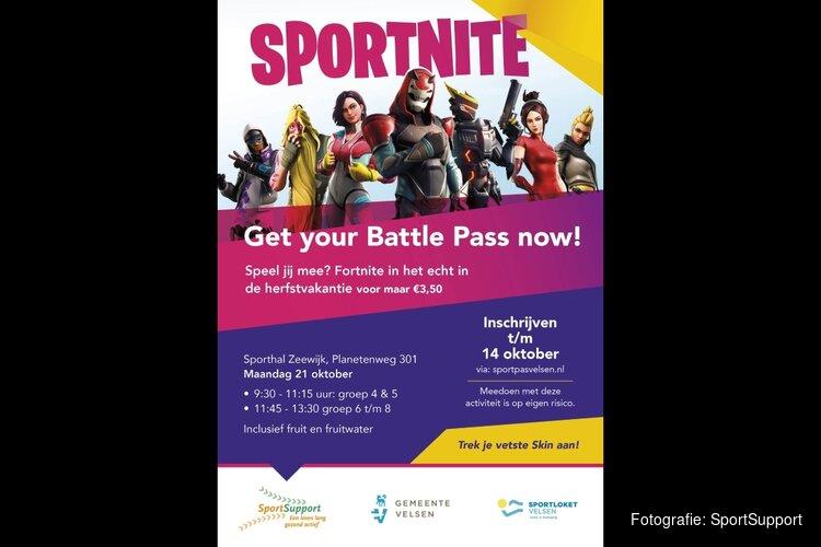 Zaterdag 21 oktober 'Sportnite' in IJmuiden