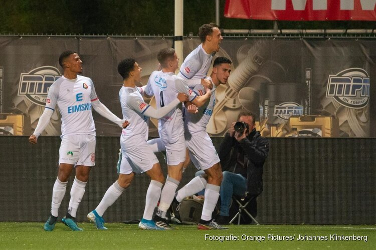 Snelle goal Kharchouch beslissend bij Telstar-Almere City