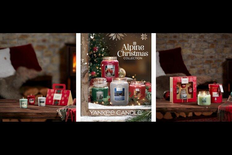 Nieuwste kerst geur en cadeau collectie van Yankee Candle!