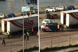 Chauffeur met vijftien illegale migranten in truck wordt niet langer verdacht