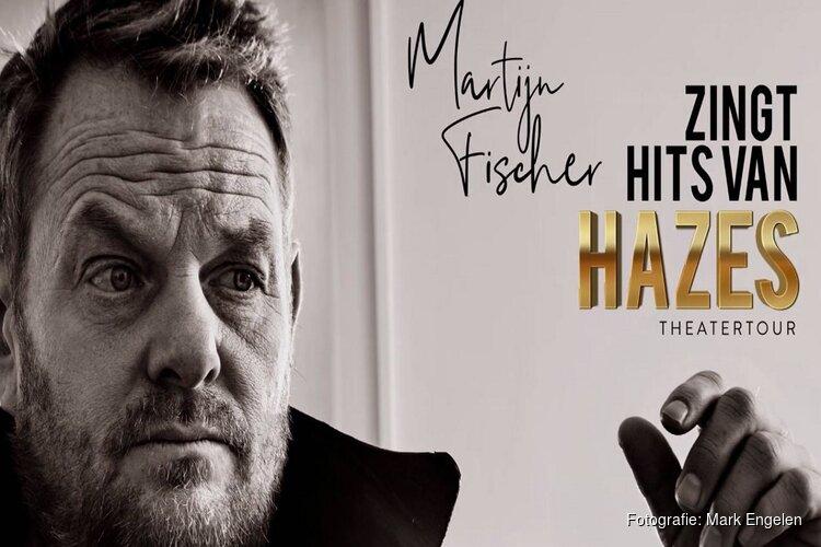 Martijn Fischer zingt hits van Hazes in de Stadsschouwburg Velsen