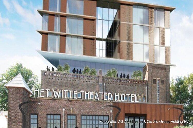 Tóch hotel in pand voormalig Witte Theater in IJmuiden
