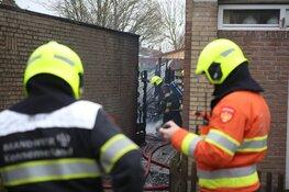 Schuren in brand in Velserbroek
