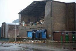 Asbest aangetroffen bij loods IJmuiden die instortte tijdens storm Ciara