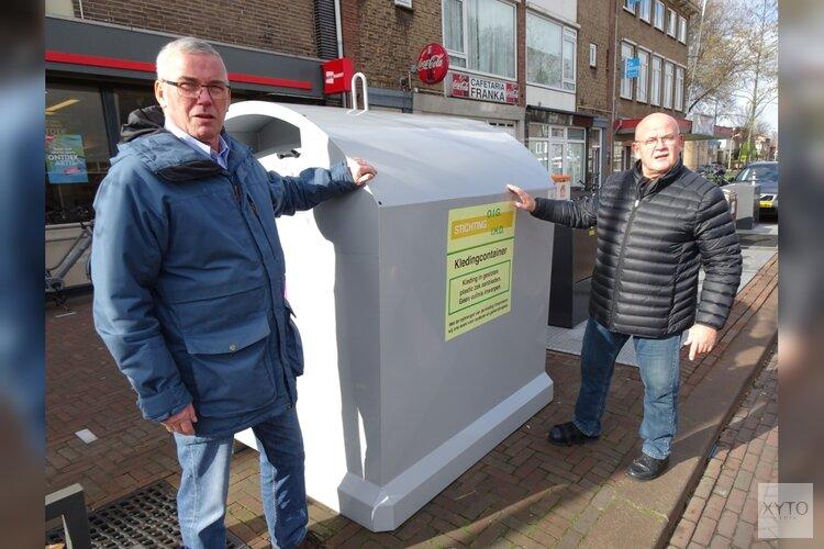 Gemeente Velsen en HVC vernieuwen textielcontainers