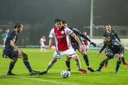 Jong Ajax en Telstar delen de punten