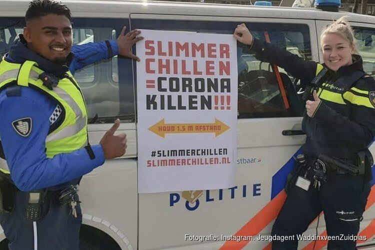 'Slimmer chillen = corona killen!'
